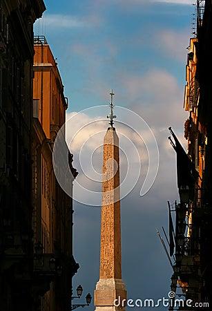 Obelisk Trinità dei Monti - Rome - Italy