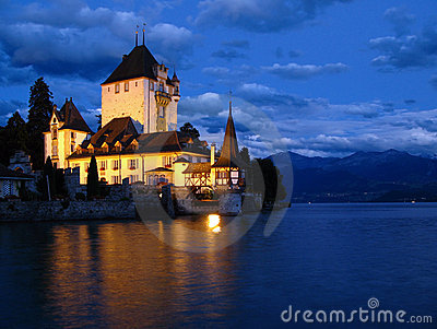 Oberhofen Castle 03, Switzerland
