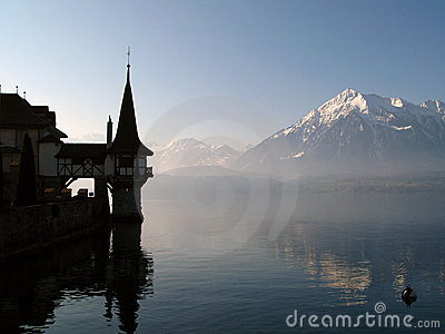 Oberhofen Castle, Switzerland