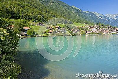 Oberried shoreline, switzerland