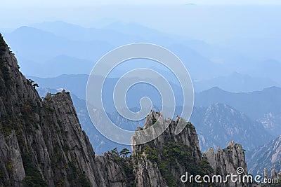 Oberseite des Berges
