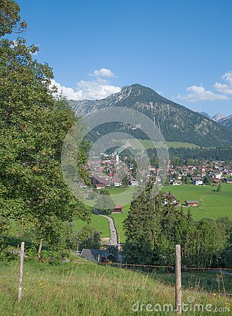 Oberstdorf,Bavaria,Germany