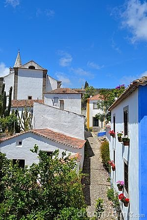 Free Obidos In Portugal Royalty Free Stock Image - 21874676