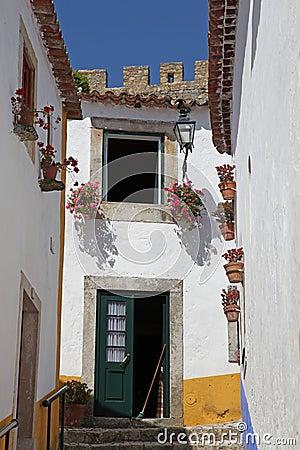 Obidos street scene