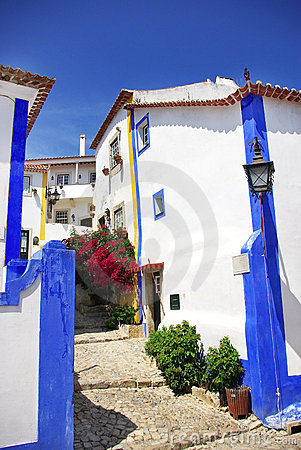 Free Obidos Village At Portugal. Stock Photo - 10629080