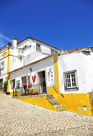 Free Obidos Village At Portugal. Stock Image - 10629101