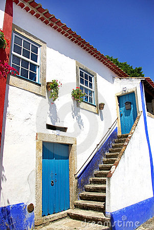 Free Obidos Village At Portugal. Royalty Free Stock Photography - 10629117