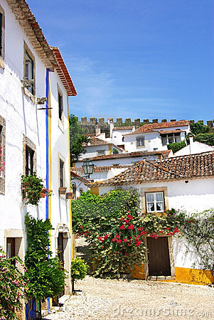 Free Obidos Village At Portugal. Royalty Free Stock Photo - 10629155