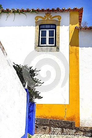 Obidos village at Portugal.