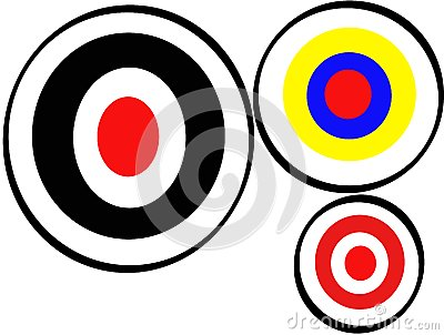 Obiettivo corretto di tiro con l arco