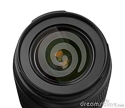 Obiettivo dell obiettivo della foto