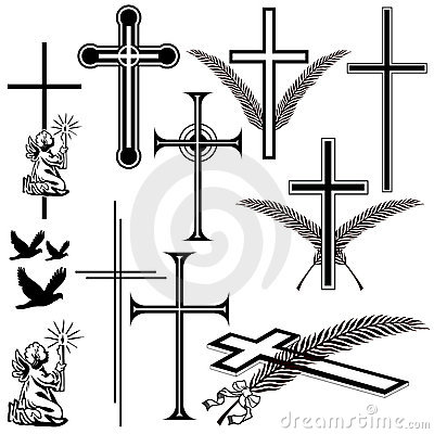 Free Obituary Symbols Stock Image - 4880941