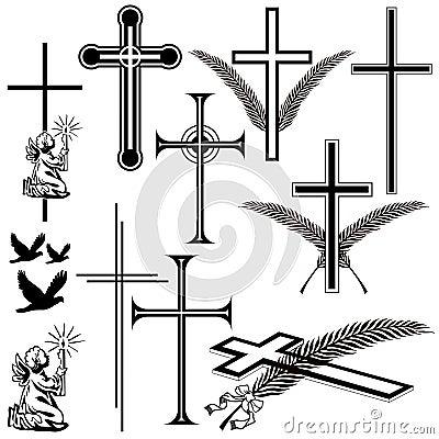 Obituary symbols