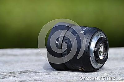 Objectiv voor fotograaf