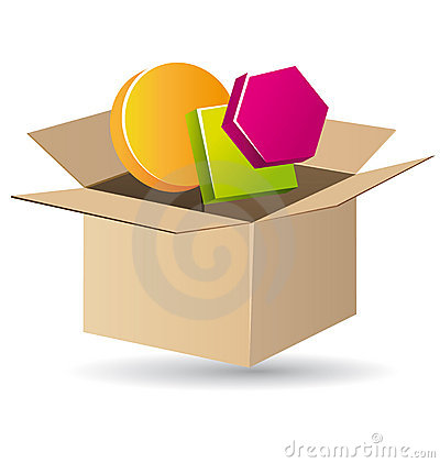 Objects in a box