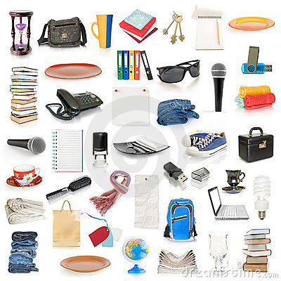 Free Objects Collection Stock Images - 17002324