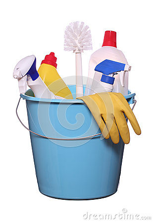 Objects for spring-cleaning