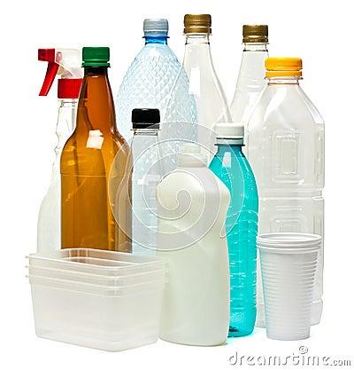 Objets en plastique