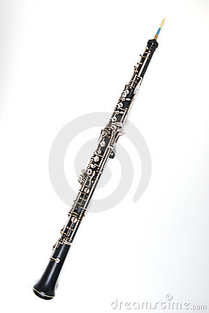 Free Oboe On White Royalty Free Stock Images - 3760029
