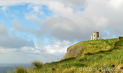OBriens Tower on Cliffs of Moher