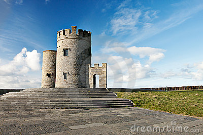 OBriens tower  in Ireland.