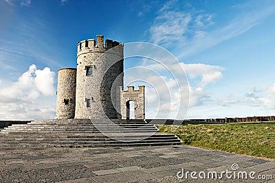 OBriens tower  in Ireland.