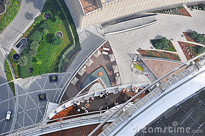 Observation Deck Burj Khalifa Editorial Image
