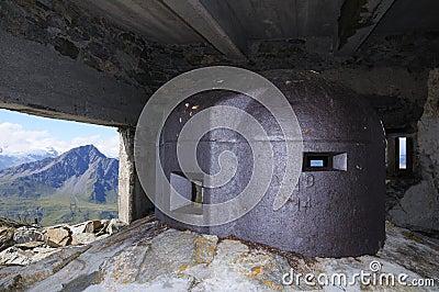 Observation tower - fort Malamot
