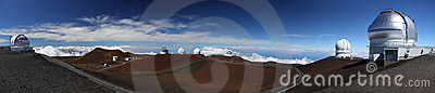 Observatories at Mauna Kea (Hawaii)