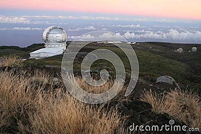 Observatory of Canaries, La Palma