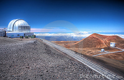 Observatory on Mauna Kea