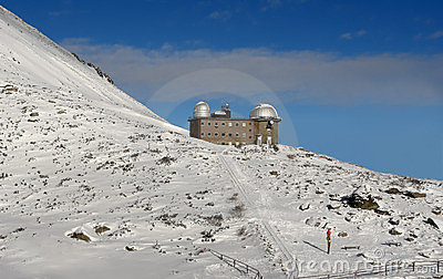 The observatory in Tatras.