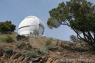 Observatory Telescope Dome