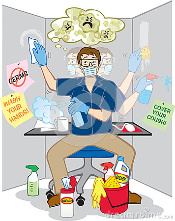 Obsessive Compulsive Fear of Germs