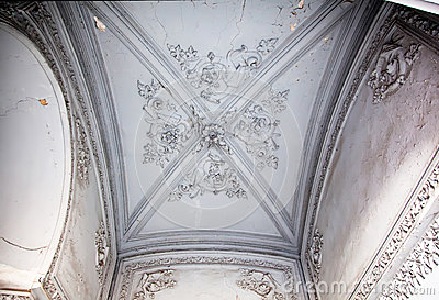 Obsolete classical ceiling