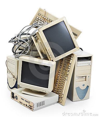 Free Obsolete Computer Royalty Free Stock Image - 8492026