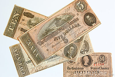 Obsolete Confederate Currency
