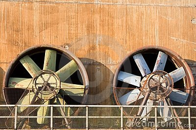 Obsolete Industrial Turbines