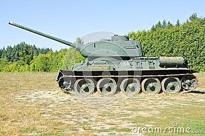 Obsolete Soviet Tanks