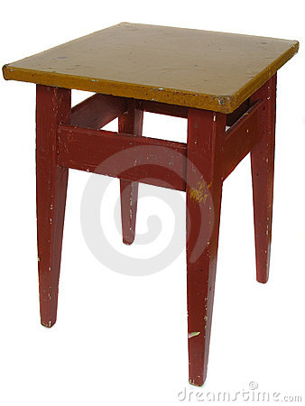The obsolete stool
