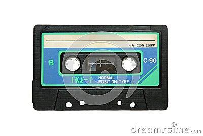 Obsolete tape cassette