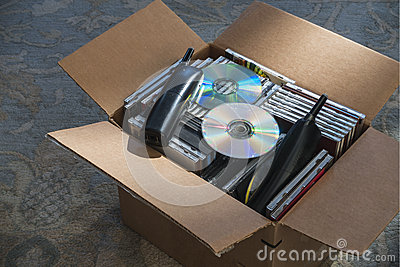 Obsolete technology in box