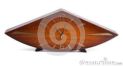 Obsolete wooden clock