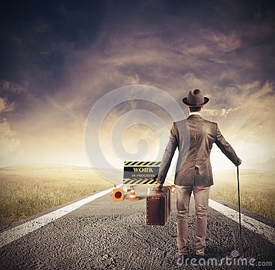 Free Obstacle In A Path Royalty Free Stock Images - 52614089