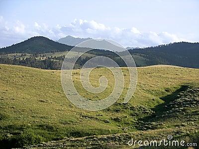 Obszarów wiejskich góry