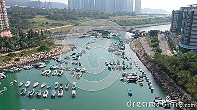 Obszar Hang Hau, TKO hong kong 14 listopada 2019 r. zdjęcie wideo