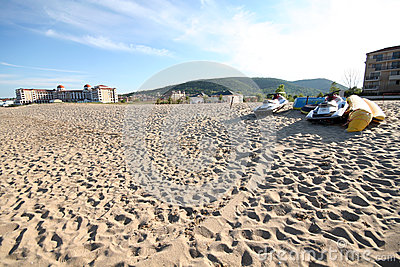 Obzor beach Editorial Stock Photo