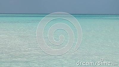 Océan ou mer avec reflets de lumière éclatants sur surface clips vidéos