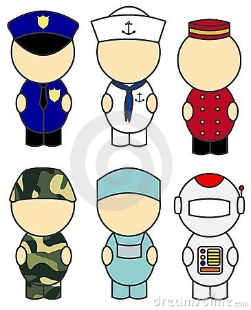 Occupation costumes