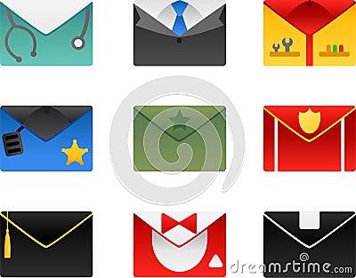 Occupation envelopes set
